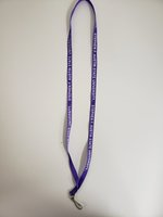 Lanyard Purple 3/8""