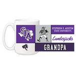 Ceramic Coffee Mug 15 oz Grandpa