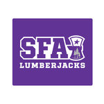 SFA PURPLE LUMBERJACK MOUSE PAD
