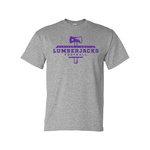SFA Lumberjack Football Sport Grey Tee