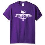 SFA Lumberjacks Track & Field Purple Tee