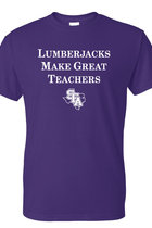 Lumberjacks Make Great Teachers