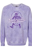 Comfort Colors Crewneck - Colorblast Lumberjacks