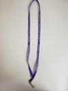 "Lanyard Purple 3/8"""