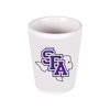 SFA LOGO SHOT GLASS - WHITE CERAMIC